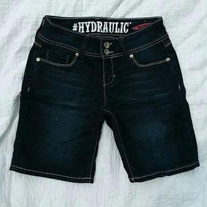 NWOT Hydraulic Lola Curvy Dark Wash Jeans